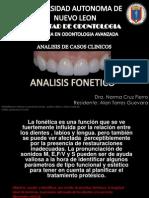 ANALISIS FONETICO