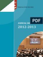 FATF Annual Report 2012 2013