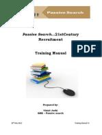 PassiveSearch_TrainingManual