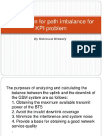 Introduction for Path Imbalance for KPI Problem