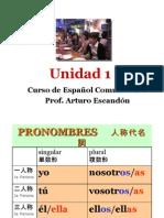 Curso de español comunicativo UNIDAD 1