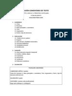 Guion Comentari o de Texto. PDF