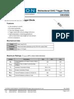 DB3(diac) datasheet