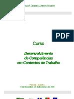 Curso Desenvolvimento de Competências em Contexto de Trabalho
