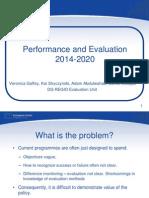 Performance & Evaluation Info