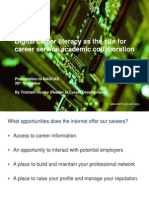 Digital Career Literacy as the Site for Careers Service/Academic Collaboration