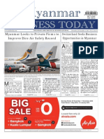 Myanmar Business Today - Vol 1, Issue 43