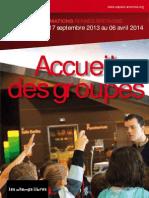 Programme Groupes Septembre 2013 Mars 2014