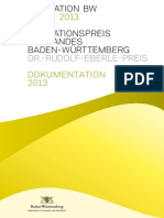 2013 - Dokumentation des Innovationspreises des Landes Baden-Württemberg 2013
