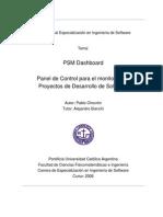 Presentación del Trabajo Final PSM Dashboard