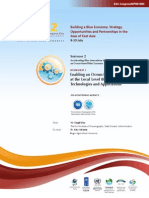 Proceedings of the Workshop on Enabling an Ocean-based Blue Economy at the Local Level through Innovative Technologies and Applications