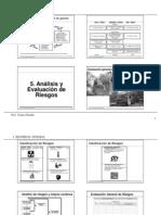 2013 Ses 5 Curso SEGURIDAD INTEGRAL UC Análisis y Evaluación de Riesgos