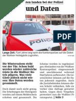 20131125 WB Polizei kann fünf Jahre lang auf Walliser Gästedaten zugreifen