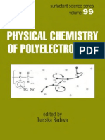 Physical Chemistry of Polyelectrolytes - Tsetska Radeva