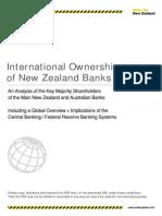 International Ownership of New Zealand Banks