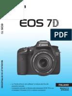 EOS 7D Instruction Manual IT