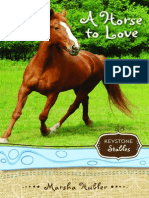 A Horse to Love by Marsha Hubler, Chapter 1