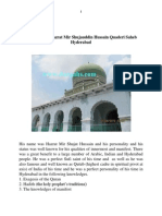 The biography of Hazrat Qutub-Ul- Hind Hyderabad