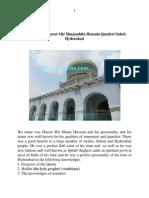 The biography of Hazrat Qutub-Ul- Hind Hyderabad