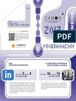 CAMON Las Cigarreras. Programación. Diciembre 2013. Obra Social. Caja Mediterráneo