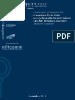 Osservatorio eCommerce B2C 2011