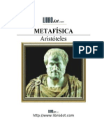 Aristóteles. Metafísica