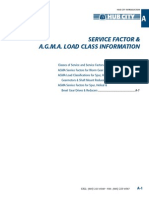 Service Factor for Geasr Design