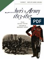 Osprey - Men at Arms 009 - Bluchers Army 1813 - 1815
