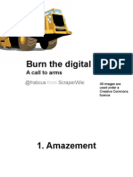 Burn the digital paper! A call to arms, by Francis Irving of ScraperWiki