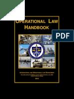 Operational Law Handbook 2013