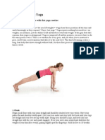 Yoga Muscle Bulider Lean Body