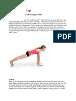 Yoga Muscle Bulider Lean Body