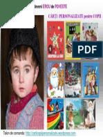 Copii Eroi de Poveste Carti personalizate