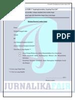 Form Opini Jurnaika Fair 9