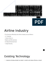Service Marketing - Airline Industry