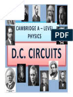 Chapter 20 DC Circuits