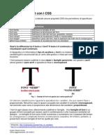 CSS-Proprietà dei font