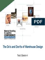T3S4 Warehouse Design