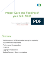 MDB03_Proper Care and Feeding of Your SQL MDB