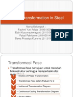 Phase Transformation in Steel