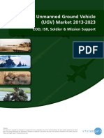 Military Unmanned Ground Vehicle UGV 2014