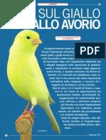 Nota Sul Giallo e Giallo Avorio - CTN Canarini Di Colore 01_Art_02_2013