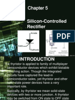 Silicon-Controlled Rectifiers (SCRs)