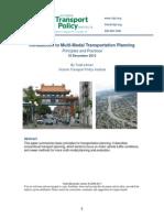Multimodal Planning