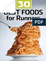 Best 30 foods for runners