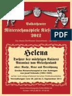 Ritterschauspiele Kiefersfelden 2012 HELENA