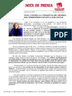 IU-Alcalá por una sociedad libre de Violencia de Género