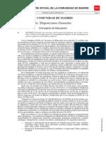 Decreto Plan de Estudios Superiores LOE