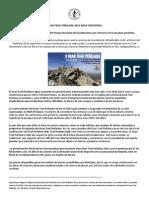 Gran Trail Peñalara 2014 - Presentación 5ª edición de la ultra trail del Parque Nacional del Guadarrama. 27Nov 19