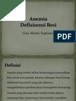 Anemia Defisiensi Besi GITA